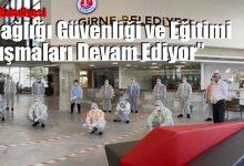 Photo of Girne Belediyesi'nde İş Sağlığı Güvenliği ve Eğitimi Çalışmaları Devam Ediyor