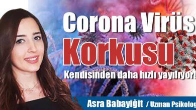 Photo of Corona Virüs korkusu virüsün kendisinden daha hızlı yayılıyor!