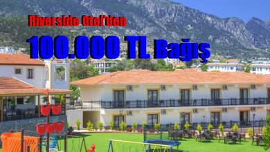 Photo of Riverside Otel'den 100.000 TL Bağış