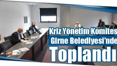 Photo of Kriz Yönetim Komitesi Bugün Girne Belediyesinde Toplandı