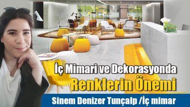 Photo of İç Mimari ve Dekorasyonda Renklerin Önemi