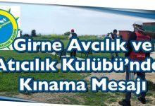 Photo of Girne Avcılık ve Atıcılık Kulübü'nden Kınama Mesajı