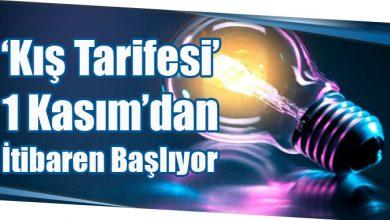 Photo of 'Kış Tarifesi' 1 Kasım'dan İtibaren Başlıyor