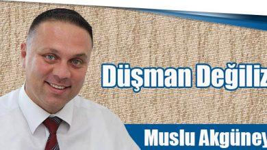 Photo of Düşman Değiliz