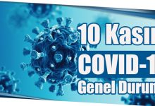 Photo of 10 Kasım COVID-19 Genel Durumu