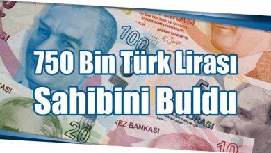 Photo of 750 Bin Türk Lirası Sahibini Buldu