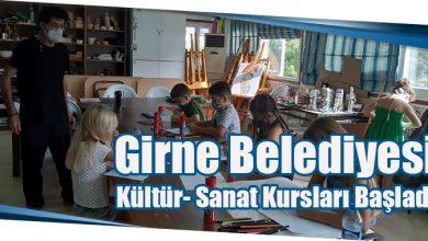 Photo of Girne Belediyesi Kültür-Sanat Kursları Başladı
