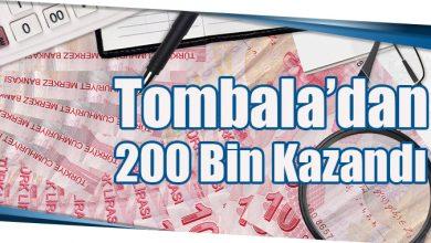 Photo of Tombala'dan 200 Bin Kazandı