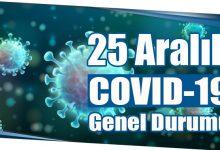 Photo of 25 Aralık COVID-19 Genel Durumu