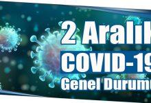 Photo of 2 Aralık COVID-19 Genel Durumu