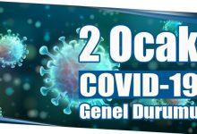 Photo of 2 Ocak COVID-19 Genel Durumu