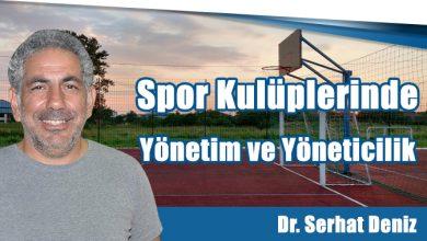 Photo of Spor Kulüplerinde Yönetim ve Yöneticilik