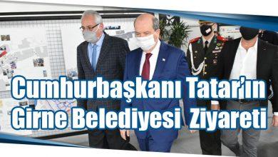 Photo of Cumhurbaşkanı Tatar'ın Girne Belediyesi Ziyareti