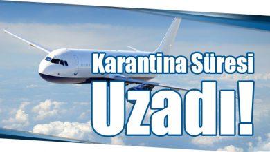 Photo of Karantina Süresi Uzadı!