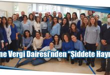 """Photo of Girne Vergi Dairesi'nden """"Şiddete Hayır!"""""""