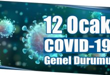 Photo of 12 Ocak COVID-19 Genel Durumu