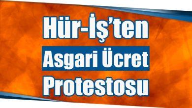 Photo of Hür-İş'ten Asgari Ücret Protestosu