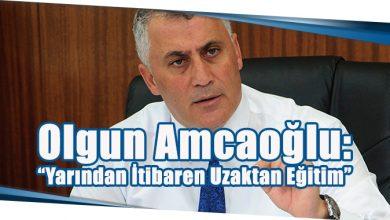 """Photo of Olgun Amcaoğlu:""""Yarından İtibaren Uzaktan Eğitim"""""""