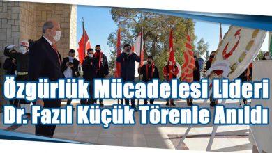 Photo of Özgürlük Mücadelesi Lideri Dr. Fazıl Küçük Törenle Anıldı
