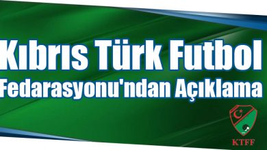 Photo of Kıbrıs Türk Futbol Fedarasyonu'ndan Açıklama