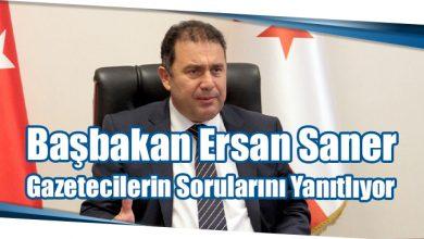 Photo of Başbakan Ersan Saner Gazetecilerin Sorularını Yanıtlıyor