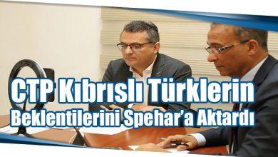 Photo of CTP Kıbrıslı Türklerin Beklentilerini Spehar'a Aktardı
