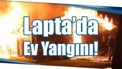 Photo of Lapta'da Ev Yangını!