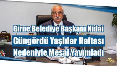 Photo of Girne Belediye Başkanı Nidai Güngördü Yaşlılar Haftası Nedeniyle Mesaj Yayımladı