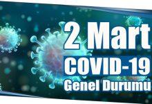 Photo of 2 Mart COVID-19 Genel Durumu