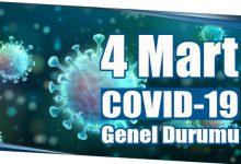 Photo of 4 Mart COVID-19 Genel Durumu