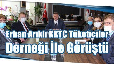 Photo of Erhan Arıklı KKTC Tüketiciler Derneği İle Görüştü