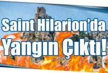 Photo of Saint Hilarion'da Yangın Çıktı!