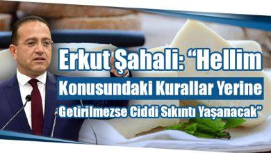 """Photo of Erkut Şahali: """"Hellim Konusundaki Kurallar Yerine Getirilmezse Ciddi Sıkıntı Yaşanacak"""""""