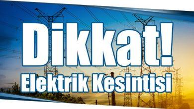 Photo of Dikkat! Elektrik Kesintisi