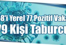 Photo of 58'i Yerel 77 Pozitif Vaka 79 Kişi Taburcu