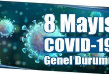Photo of 8 Mayıs COVID-19 Genel Durumu