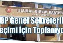 Photo of UBP Genel Sekreterlik Seçimi İçin Toplanıyor