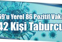 Photo of 69'u Yerel 86 Pozitif Vaka 42 Kişi Taburcu