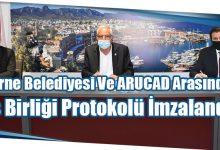 Photo of Girne Belediyesi Ve ARUCAD Arasında İş Birliği Protokolü İmzalandı