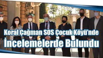 Photo of Koral Çağman SOS Çocuk Köyü'nde İncelemelerde Bulundu
