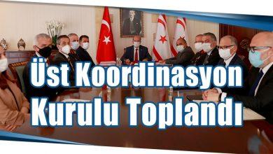 Photo of Üst Koordinasyon Kurulu Toplandı