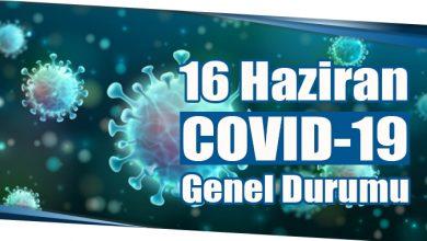 Photo of 16 Haziran COVID-19 Genel Durumu