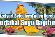 Photo of Güzelyurt Belediyesi'nden Ücretsiz Portakal Suyu Dağıtımı