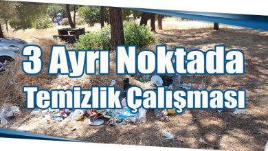 Photo of 3 Ayrı Noktada Temizlik Çalışması