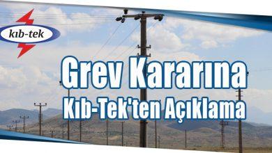 Photo of Grev Kararına Kıb-Tek'ten Açıklama
