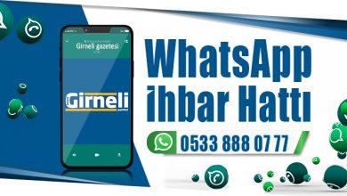 Photo of WhatsApp İhbar Hattımız