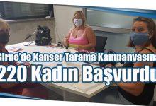 Photo of Girne'de Kanser Tarama Kampanyasına 220 Kadın Başvurdu