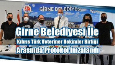 Photo of Girne Belediyesi İle Kıbrıs Türk Veteriner Hekimler Birliği Arasında Protokol İmzalandı