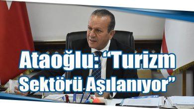 """Photo of Ataoğlu: """"Turizm Sektörü Aşılanıyor"""""""
