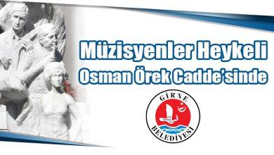 Photo of Müzisyenler Heykeli Osman Örek Cadde'sinde
